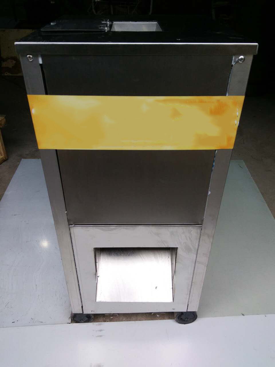 Meat Strips Cutting Machine One Time Operate